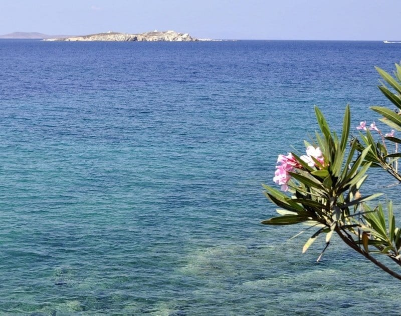 Crystal Clear Mykonos Sea