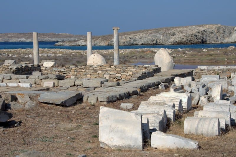 Sanctuary of Apollo, Delos