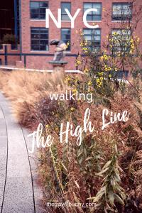 The High Line New York City
