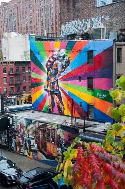 Eduardo Kobra Mural High Line