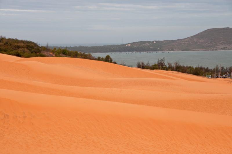 Red Sand Dunes Vietnam