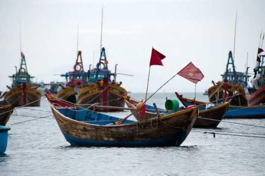 Fishing Boats at Mui Ne
