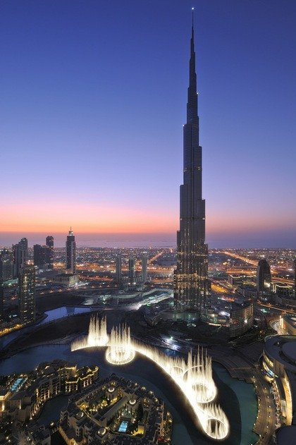 Sky High in Dubai at the Burj Khalifa
