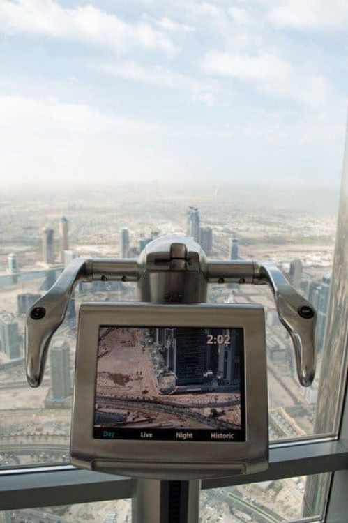 Telescope at Burj Khalifa