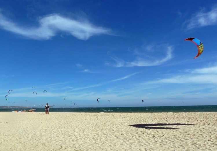 kite beach sky