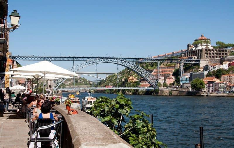 Ribeira Luis I Bridge, Porto