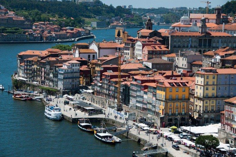Porto from Luis I Bridge