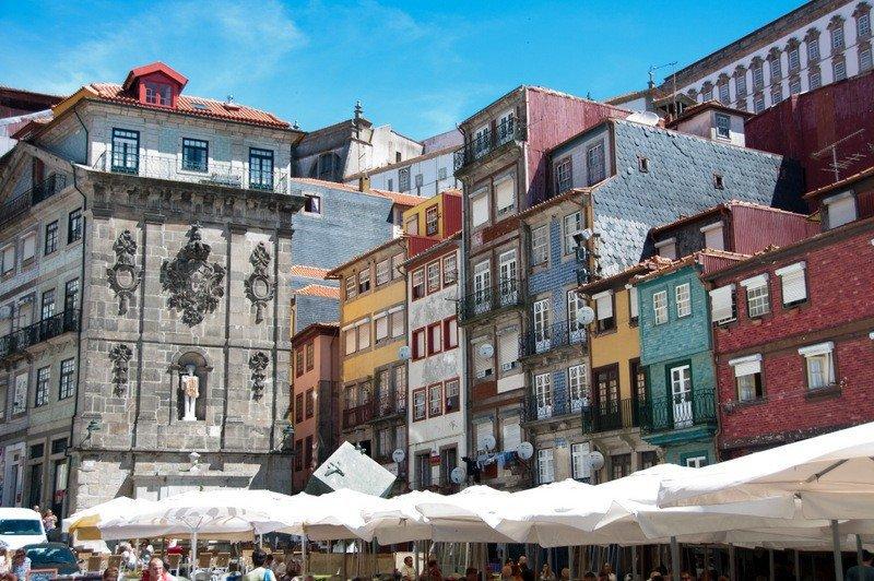 Praça da Ribeira, Porto