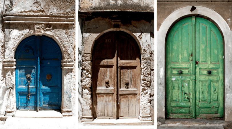 Rethymno Doors