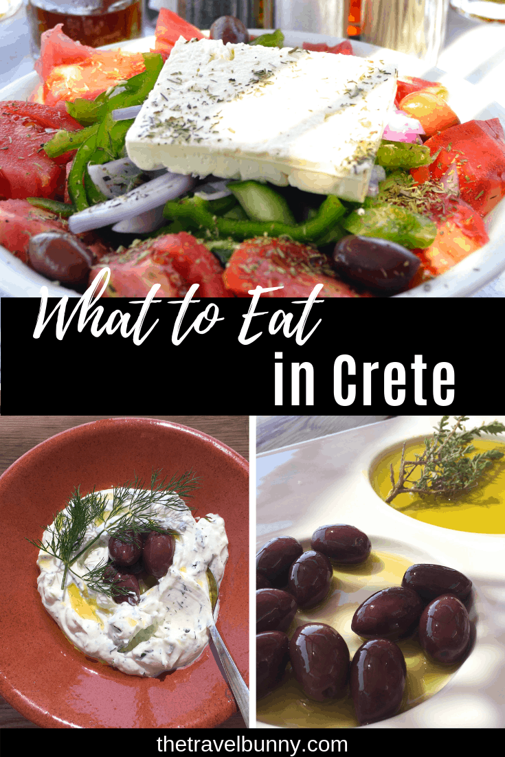 Food guide to Crete. Food in Crete full of intense Mediterranean flavours. Uncomplicated and delicious it's made from fresh, healthy ingredients. Here's my guide to food in Crete #crete #greece #food