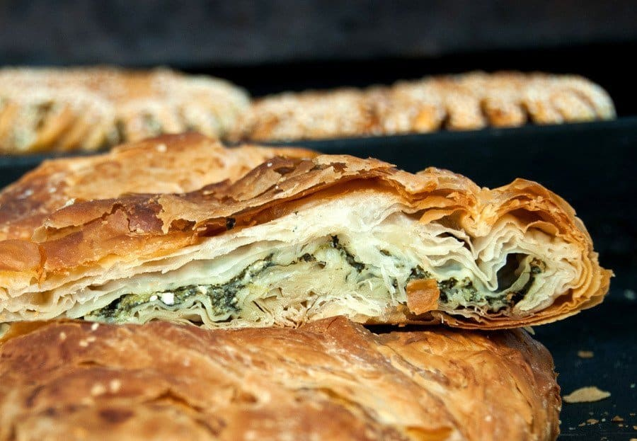 Greek food - Spanakopita