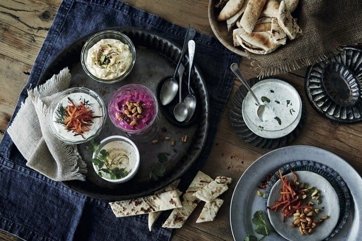 Table of Mezze