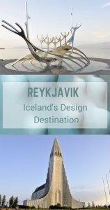 Reykjavik - Iceland's Design Destination full of art, design and creativity. Here are my Reykjavik design favourites