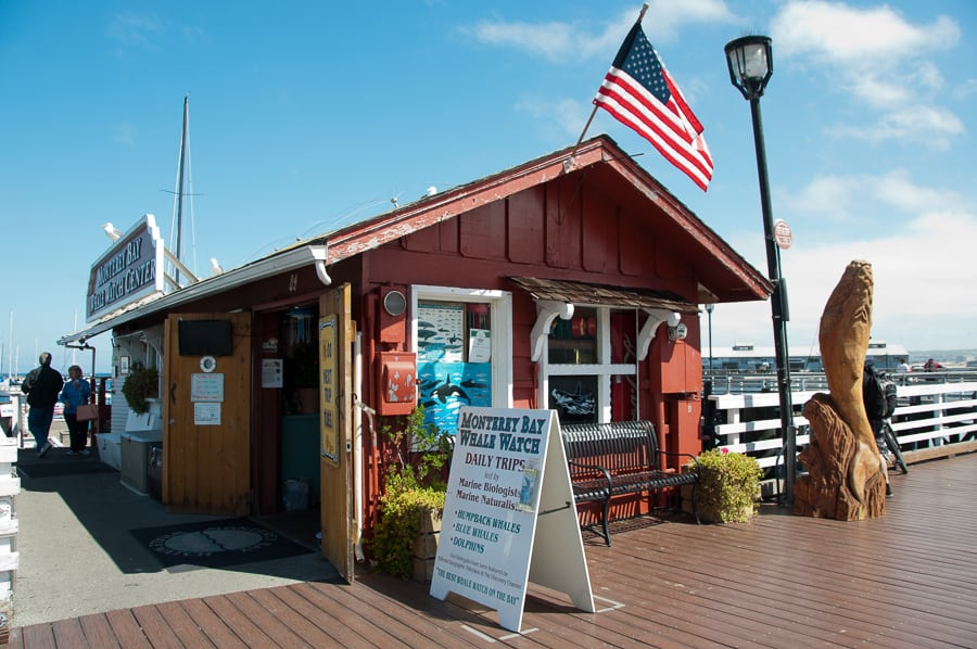 Monterey Bay Whale Watch office
