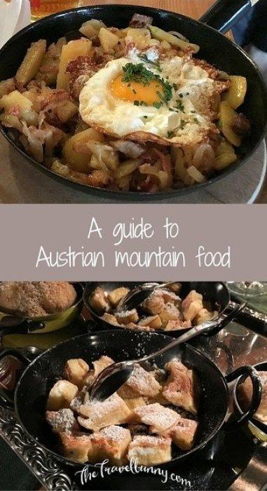 Austrian Mountain Food