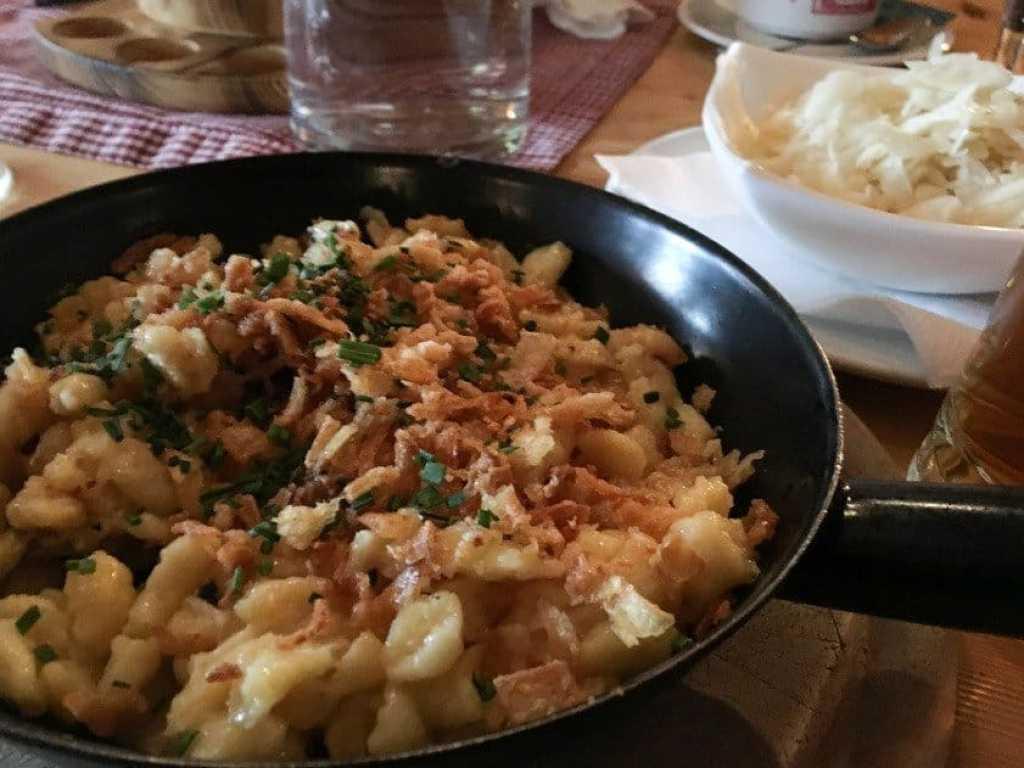 Käsespäetzle - Austrian Macaroni cheese