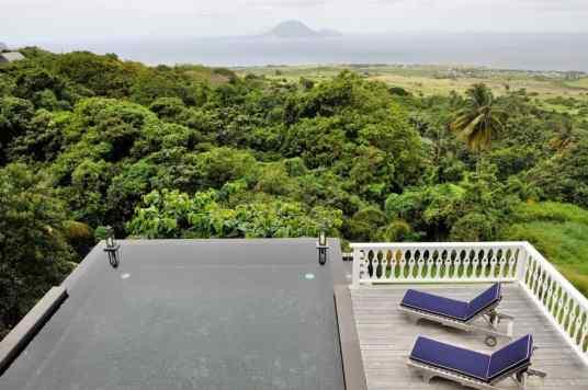 Villa Pool Belle Mont St Kitts