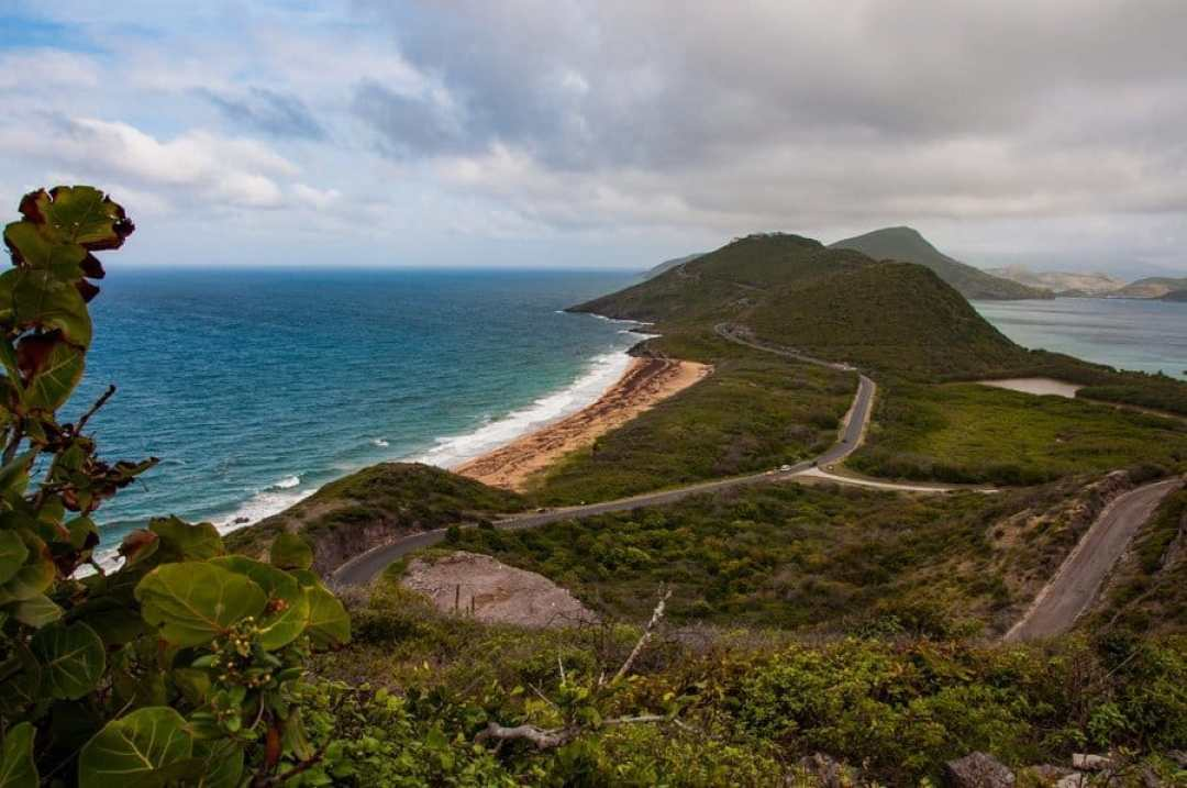 View of St Kitts from Timothy Hill