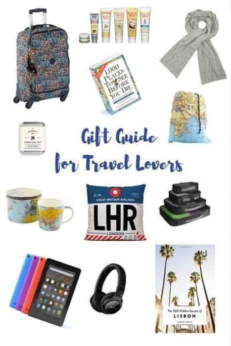 A gift guide for the travel lover - practical travel inspired gift ideas