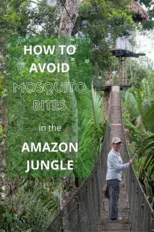 tips on how to avoid mosquito bites when travelling