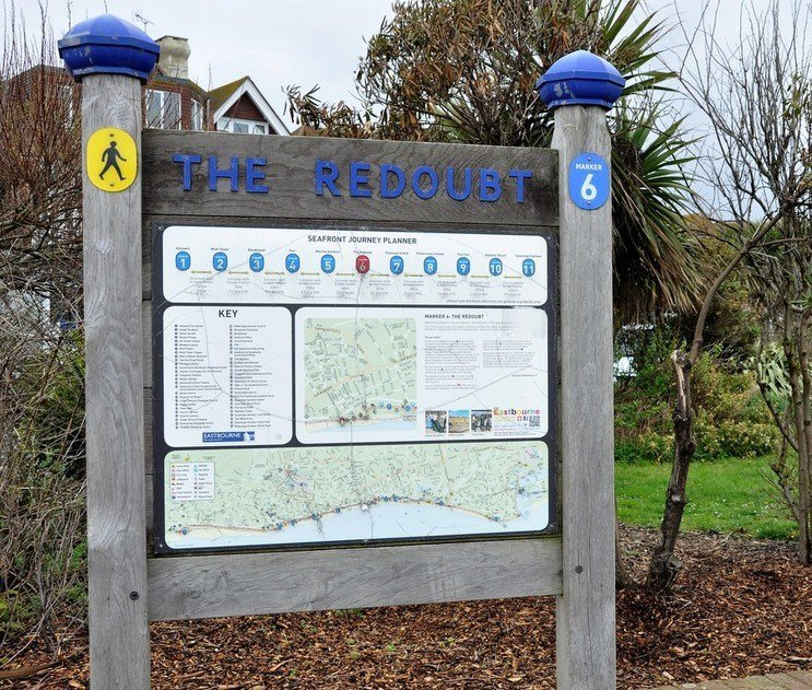 Eastbourne Trails Marker