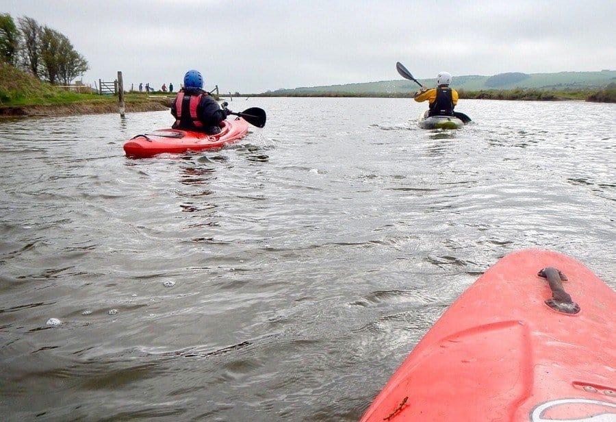 Kayaking on the Cuckmere