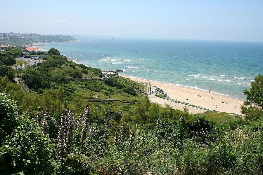 Beach at Bidart, French Basque
