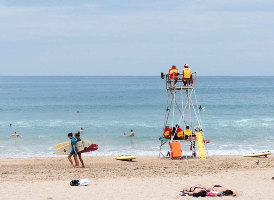 Grand Plage Surfers Biarritz