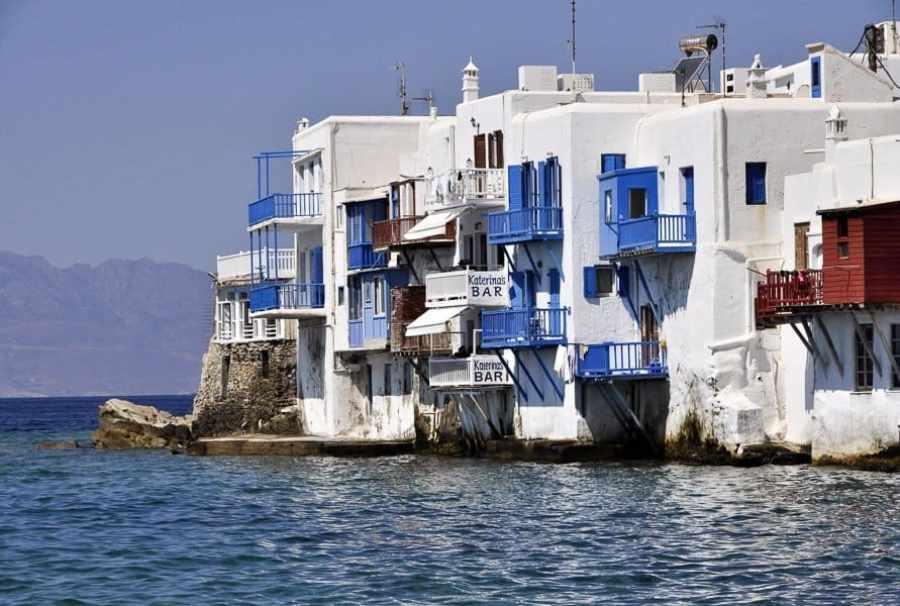 Little Venice Mykonos Greece