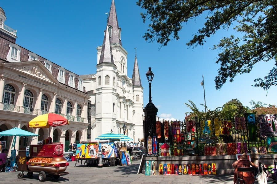 St Louis Cathedral, New Orleans