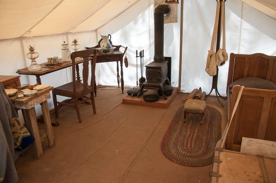 Soldier's Tent American Civil War