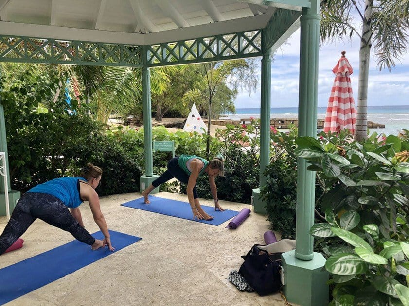 Yoga at Cobblers Cove Barbados