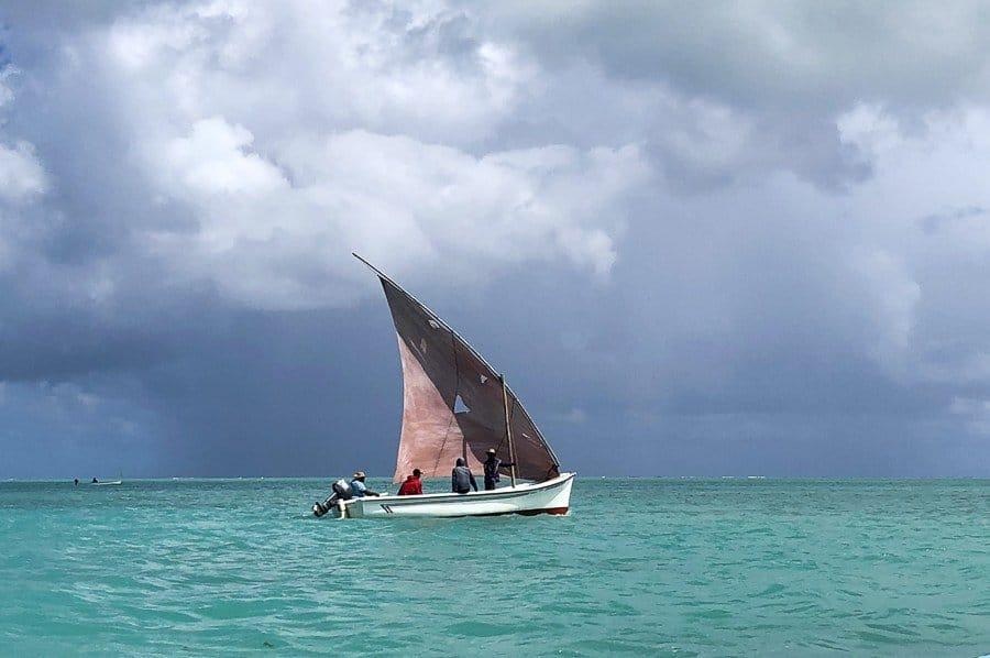 Fishing boat, Rodrigues Island, Mauritius