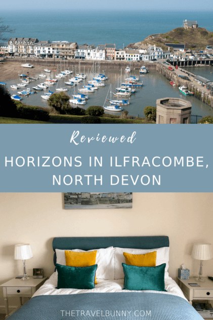 Reviewed - a seaside themed family holiday apartment in Ilfracombe, North Devon in the UK. A stylish apartment combined with a fabulous locations for a perfect family holiday #holidaylet #vacationrental #Devon