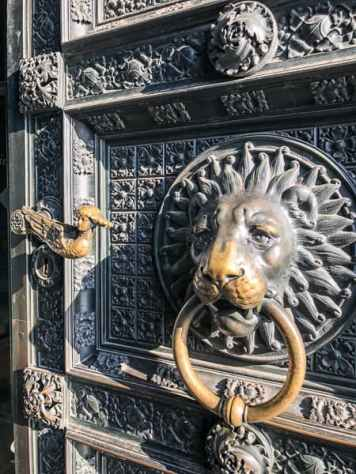 Cologne Cathedral Door