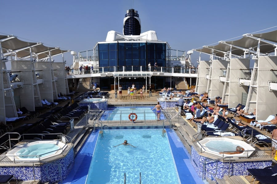 Pool Cruise Ship