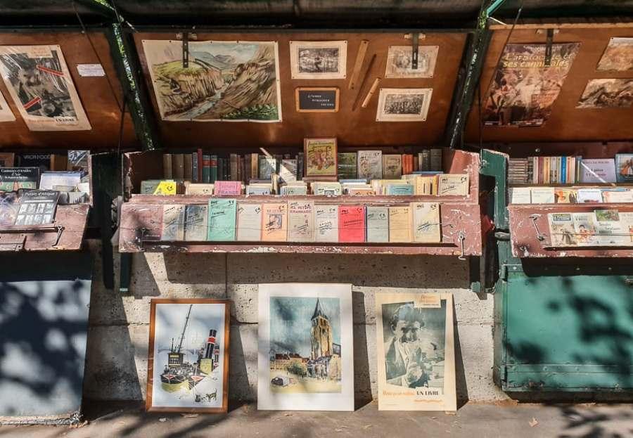 Paris Bouquinistes book stall