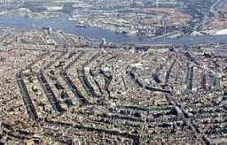 Aerial Map of Amsterdam
