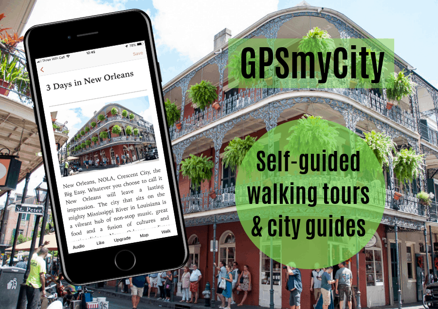 GPS my City – self-guided walking tours with The Travel Bunny