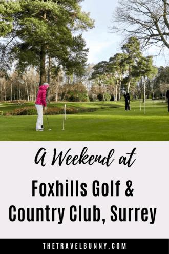 Putting green Foxhills Golf