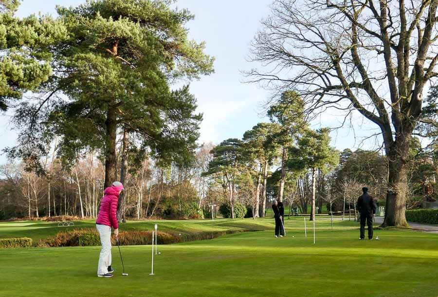 Putting Green at Foxhills Golf Club