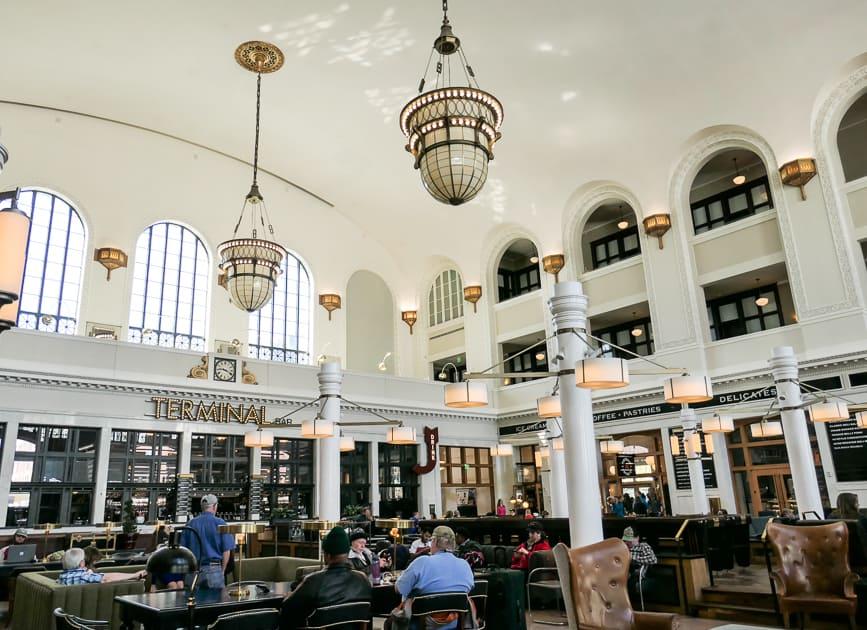 Interior Union Station, Denver