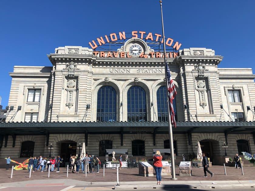 Union Station facade, Denver