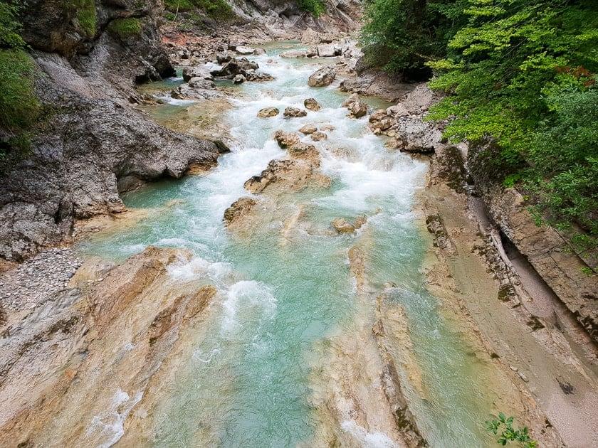 Tiefenbachklamm - gorge in Tirol Austria