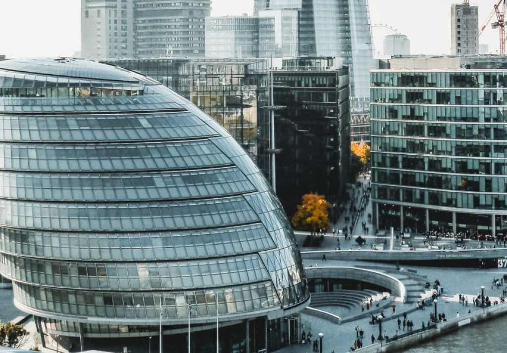 City Hall London and The Scoop