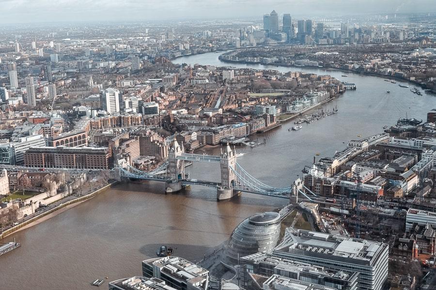 Top Ten things to do near London Bridge