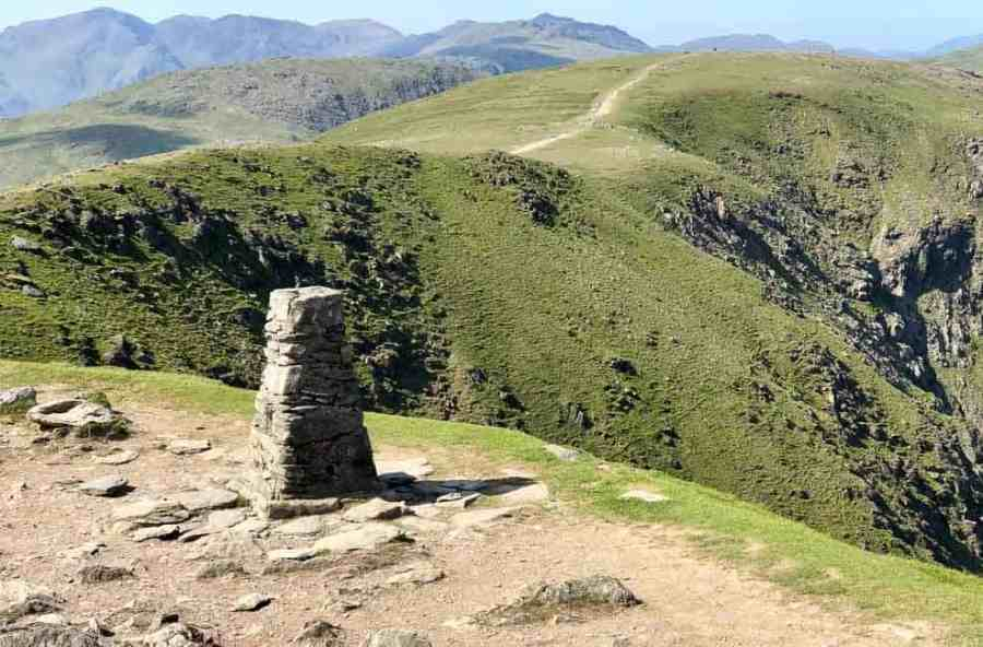 Trig Point at Old Man Coniston, Lake District