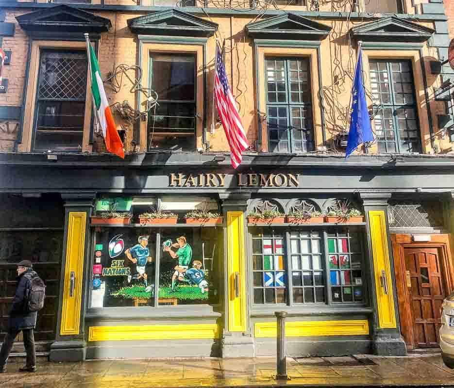 Hairy Lemon cafe restaurant, Dublin, Ireland