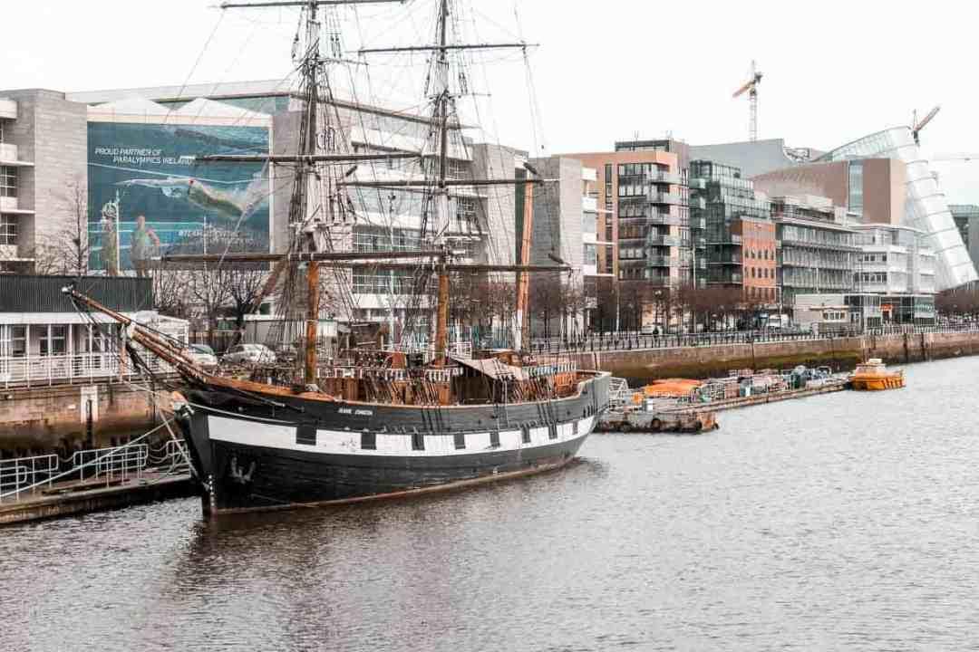The Jeanie Johnston tall ship, Dublin