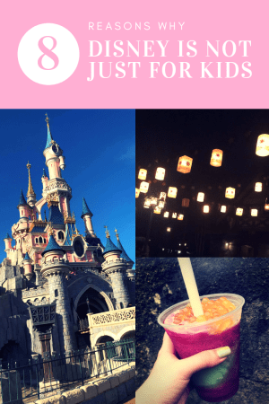 8 Reasons why Disney is not just for kids. #travel #disney #disneytravel